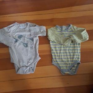 3 Baby Gap bodysuits